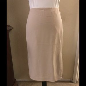 Work Basics - Merona Beige Pencil Skirt